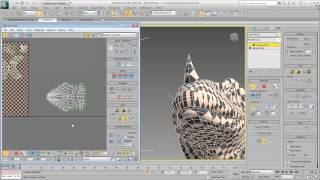 UV Unwrapping - Part 9 - Organic Model (Cont