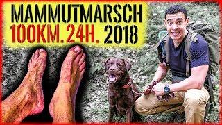 """""""Survival Mattin"""" muss 100 KILOMETER in 24H zu FUSS gehen MAMMUTMARSCH 2018 und überlebt nur knapp."""