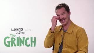 Benedict Cumberbatch on character voicing, and what makes him