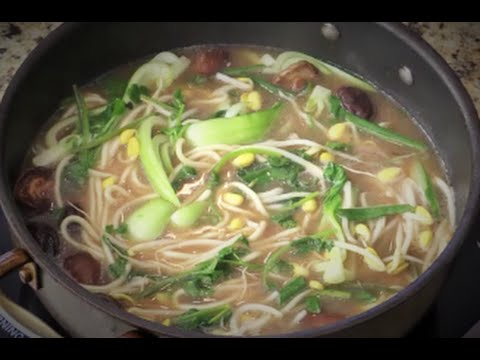 Beef Miso Noodle Soup New York Strip