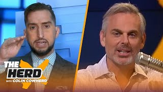Nick Wright on LeBron's legacy w/ 4th NBA title, Brady's coaching & Chiefs 'wake-up call' | THE HERD