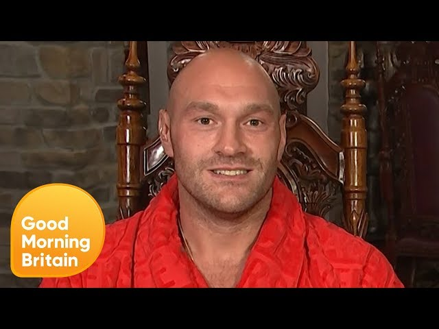 Tyson Fury on Love Island and Anthony Joshua | Good Morning Britain