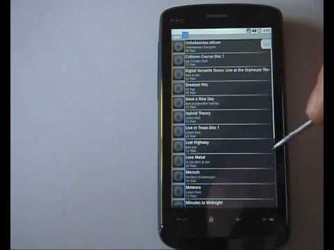 Android auf HTC Touch HD - faq4mobiles - Video by Duron