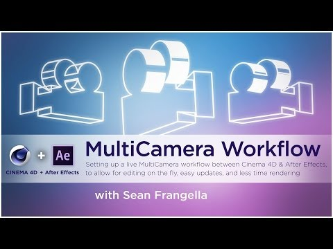 Cinema 4D Cameras Tutorial - Switch between multiple cameras - Sean Frangella