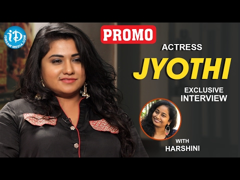 Actress Jyothi Exclusive Interview PROMO || Talking Movies With iDream