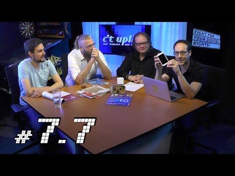 c't uplink 7.7: Netzpolitik.org vs.BRD, OnePlus 2 vs. Moto G, Wordpress vs. Joomla
