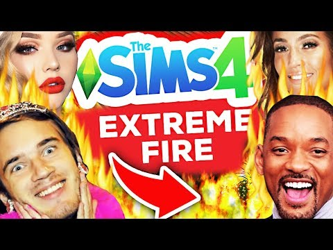 Burning Celebrities in The Sims 4... thumbnail
