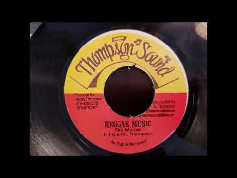 "Eek A Mouse -Reggae Music - Thompson Sound 7"""