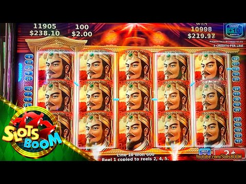 KONAMI SLOTS BIG WINS !!! HITS & BONUS !!! 2c Video Slots in San Manuel Casino