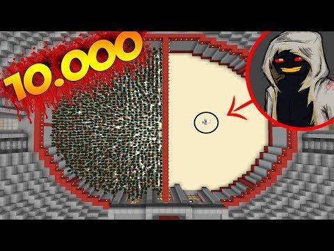 1000 HEROBRİNE VS 1 ENTİTY 303 - Minecraft