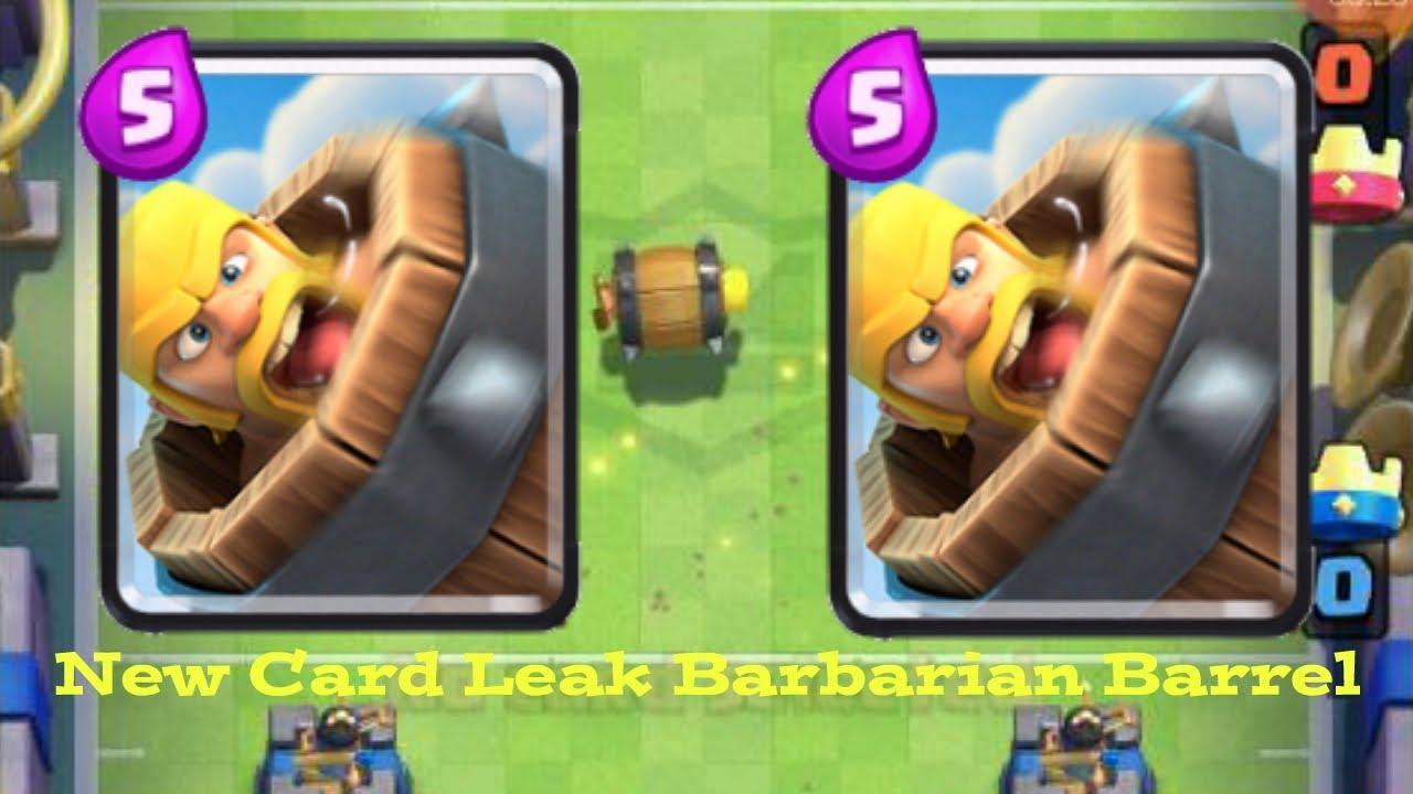 clash royale barbarian barrel deck