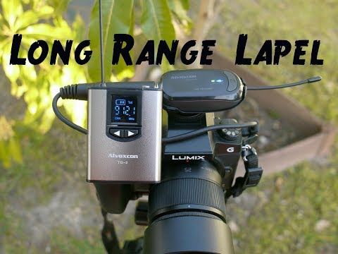 Extreme Range Wireless Lav Mic Review By Alvoxcon