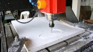 CNC ตัดแผ่นพลาสวู๊ด