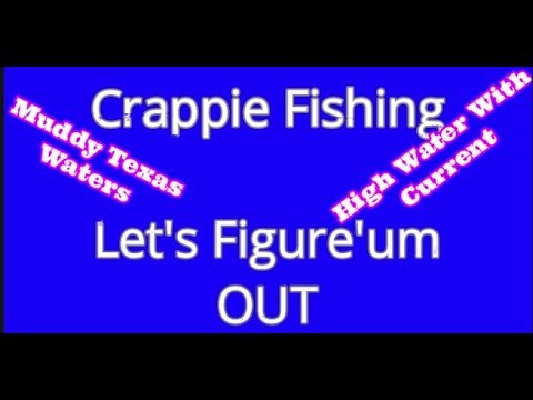 How To Crappie Fish - Muddy Waters With Current