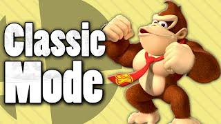 King of the Jungle, Donkey Kong! - Classic Mode (Super Smash Bros. Ultimate)