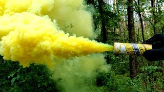 ✅🔥BIG FIRECRACKERS vs YELLOW SMOKE💣🌈🌈SMOKE TEST