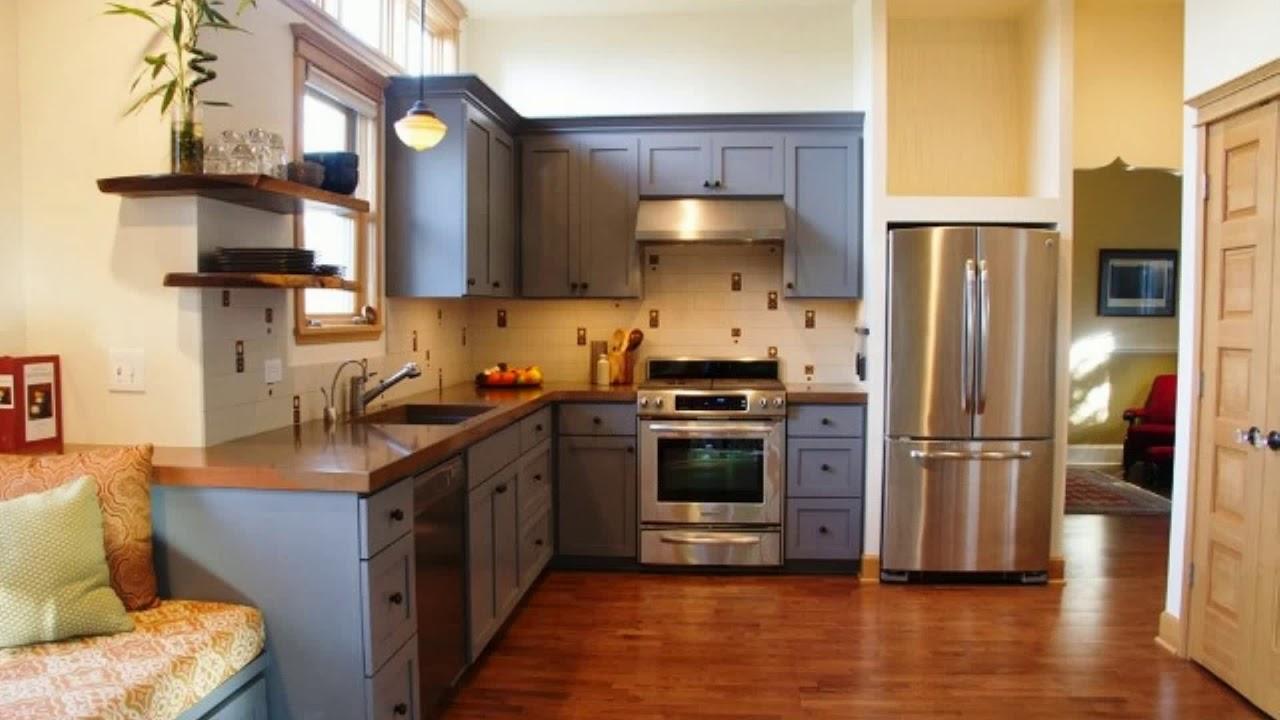 Peinture pour meuble de cuisine youtube - Repeindre meuble de cuisine sans poncer ...