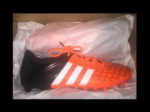 4652e32de68 Soccer kickers  Adidas Ace 15.3 FG AG Unboxing - YouTube