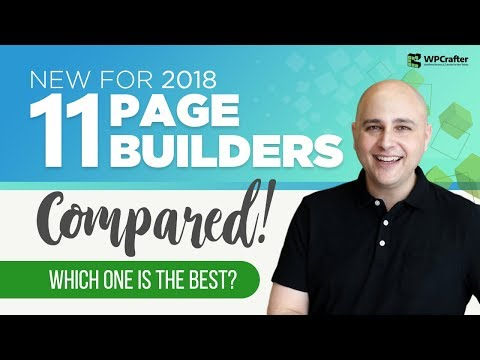 What Is The Best WordPress Page Builder - Beaver Builder, Di