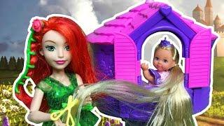 Rapunzel masalı çizgi film tadında evcilik oyunu   Evcilik TV