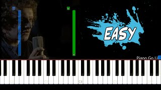 Foreigner - I Want To Know What Love Is EASY Piano Tutorial видео
