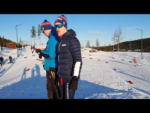 Jacob, Bendik, Iver, Amund, Rustad Langrenn Junior, Januar 2020, Lygna