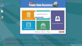 Guide to recover data saved on deleted dynamic volume, MiniTool Power Data Recovery:r