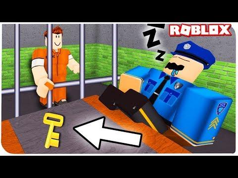 Роблокс: ОЧЕНЬ сложный ПОБЕГ из ТЮРЬМЫ в ROBLOX!