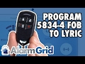 Honeywell 5834-4: Program to Lyric