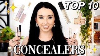 TOP 10 BEST CONCEALERS! Drugstore & Highend