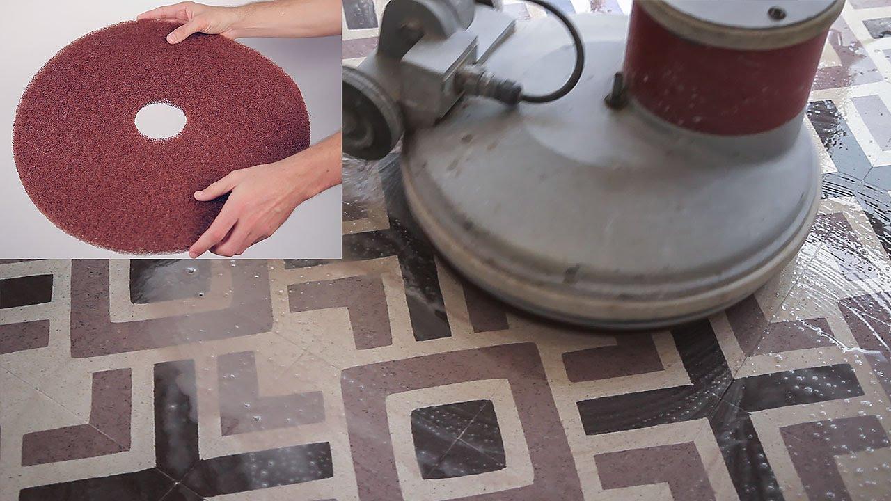 Limpiar a fondo un suelo de terrazo fino youtube - Limpiar suelos muy sucios ...
