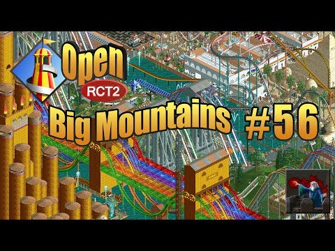 Let's Play OpenRCT2 (Big Mountains) - Ep  56: MUMMY CAR