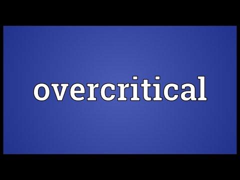 Header of overcritical