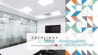 Álmennyezetek részletesen - ARCHLine.XP Webinar