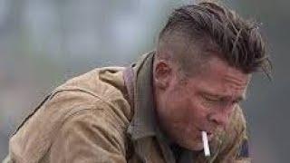 Как сделать стрижку Брэда Питта из фильма Ярость  How to cut into Brad Pitt