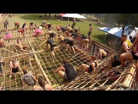 2015 Warrior Dash Ohio II Run Through (with fast forward)