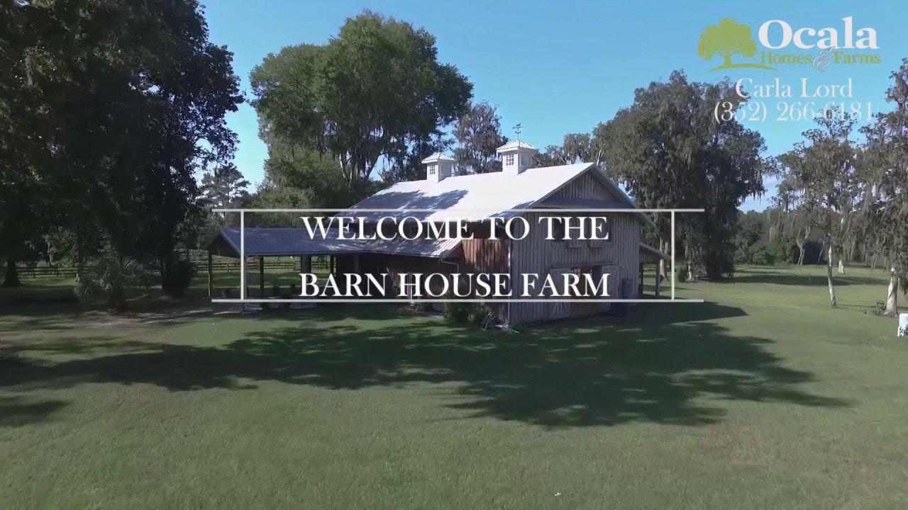 Morton Barn-Home For Sale  Ocala, Fl