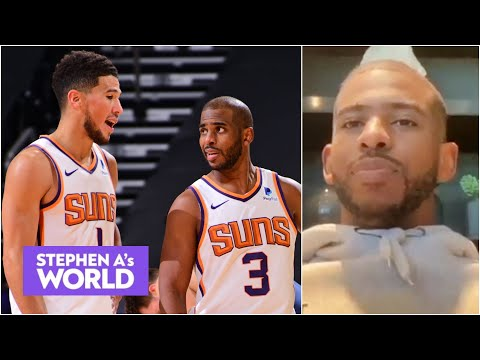Chris Paul: Devin Booker had everything to do with me coming to the Suns | Stephen A's World