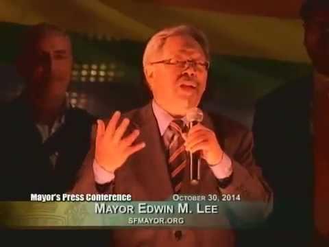 Mayor Lee Celebrates Castro Street Improvement Project