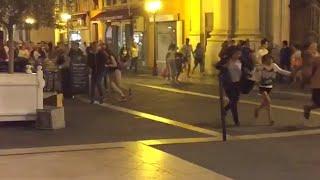 BREAKING: Truck rams into crowd in Nice, dozens dead, reports of gunfire thumbnail