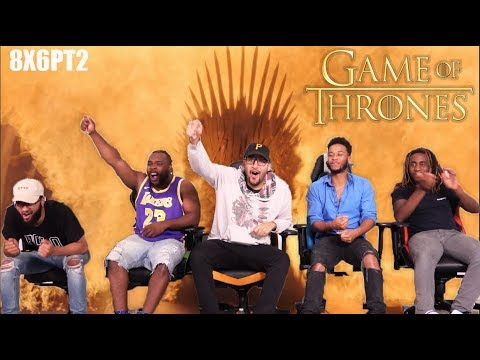 """Game of Thrones 8x6 """"The Iron Throne"""" REACTION/REVIEW PART 2 FINALE"""