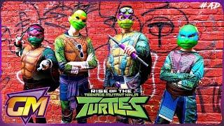 Rise Of The Teenage Mutant Ninja Turtles - Fun Kids Parody