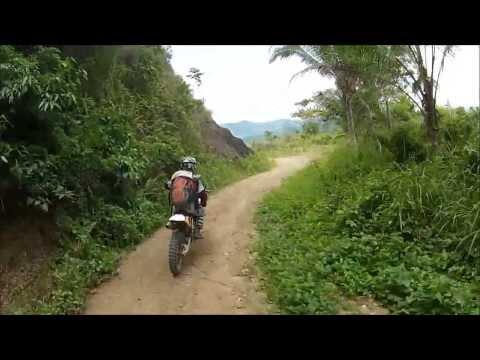 Philippines Dirt Bike Tour Part 3...and Chicks!