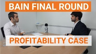 Profitability Case Study Interview Example - Solved by Ex-McKinsey Consultant