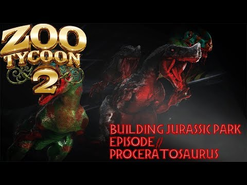 BUILDING JURASSIC PARK Ep 2 Proceratosaurus Paddock