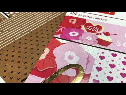 Paper Sale At Michaels/On The Hunt For Valentines Paper