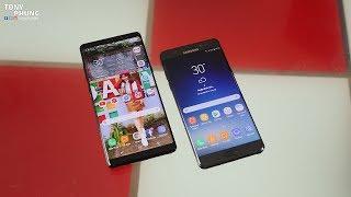 Khi Note FE giá chỉ hơn 11 triệu thì bạn sẽ mua nó hay Note 8? Tony Phùng