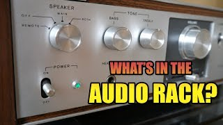 Audio rack components - what I've got and why