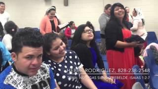 Heber Rodríguez, Tema:No sigas rebelde, Iglesia Ministerio de Dios Unido, 2ndo Aniversario,Riverdale thumbnail