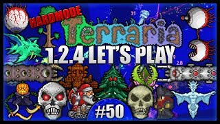 Repeat youtube video Python The Dominator! The Ultimate Final Showdown! || Let's Play Terraria 1.2.4 [Episode 50]